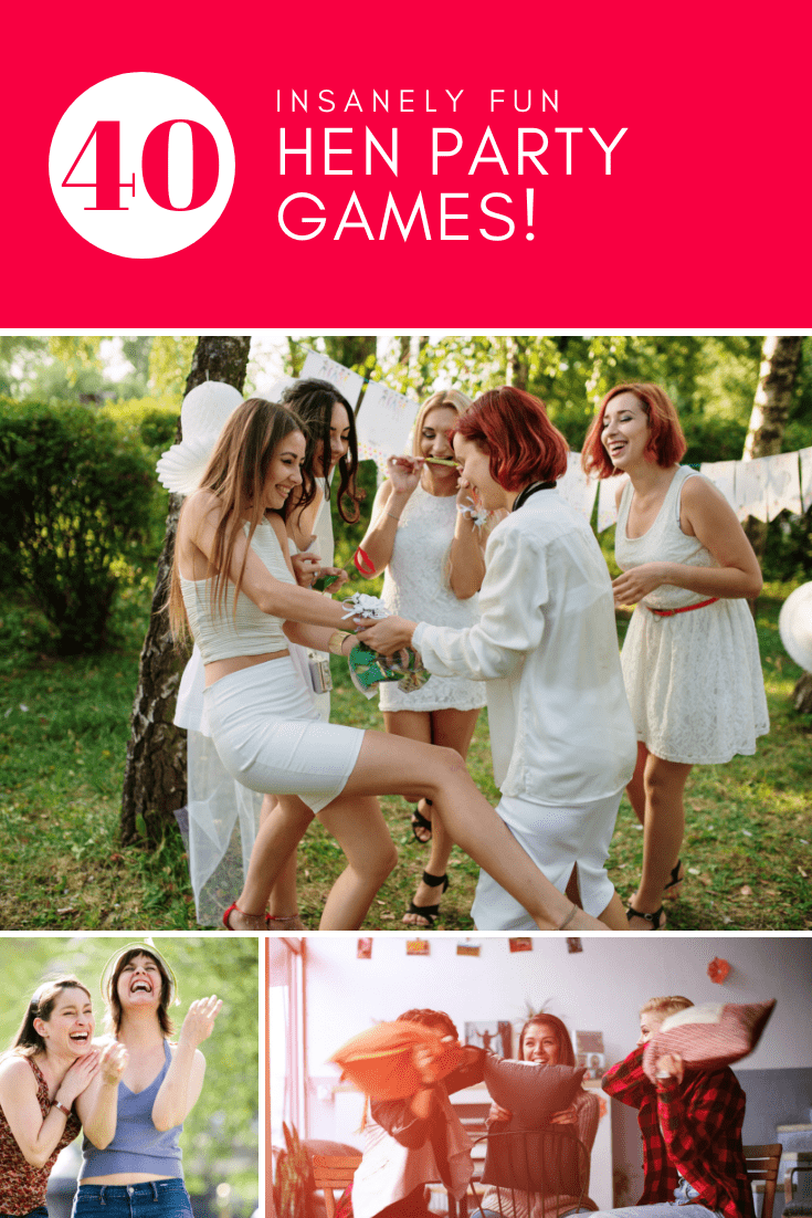 40+ Bridal Shower \u0026 Hen Party Games Taking your Celebration