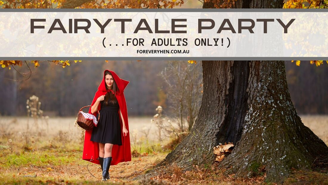 Fairytale Themed Bachelorette Party