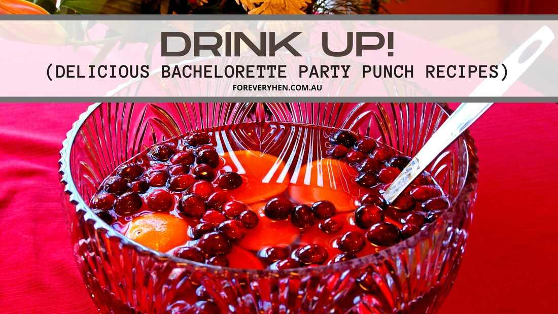 Alcoholic Punch Recipes for Bachelorette Party