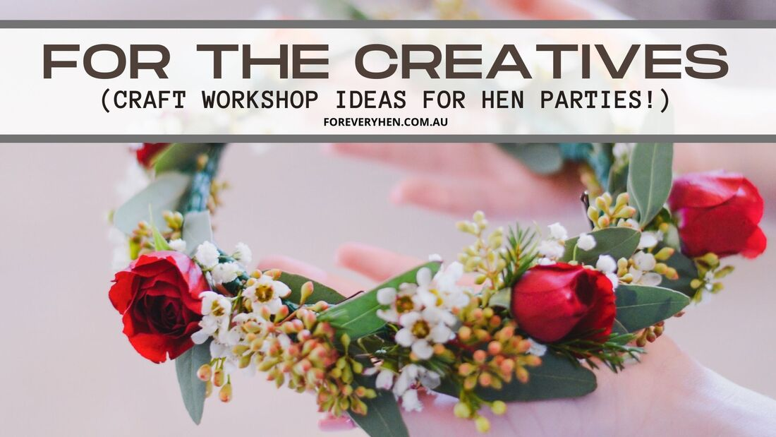 Classy Hens Party Workshops