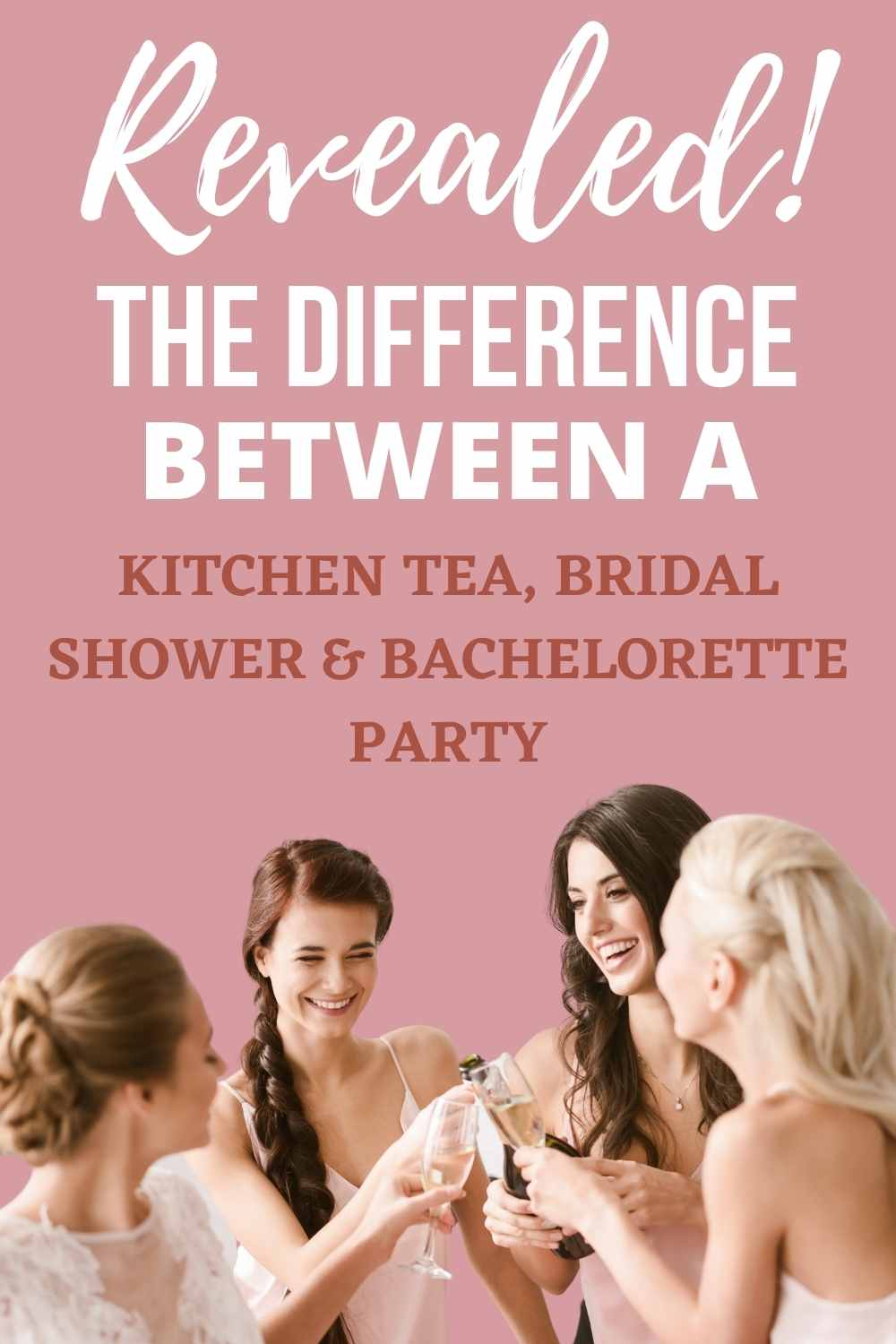 Difference Between Bridal Shower and Hens Party