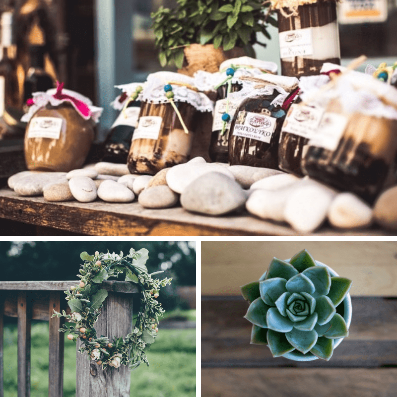 Eco gifts for your guests
