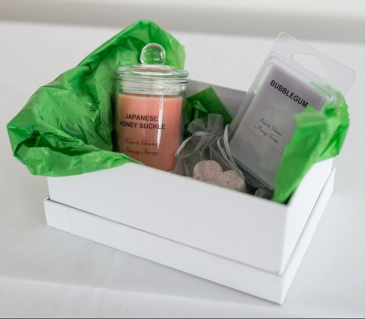Gorgeous goodie bags will keep the relaxation feel; even after your pampering has finished