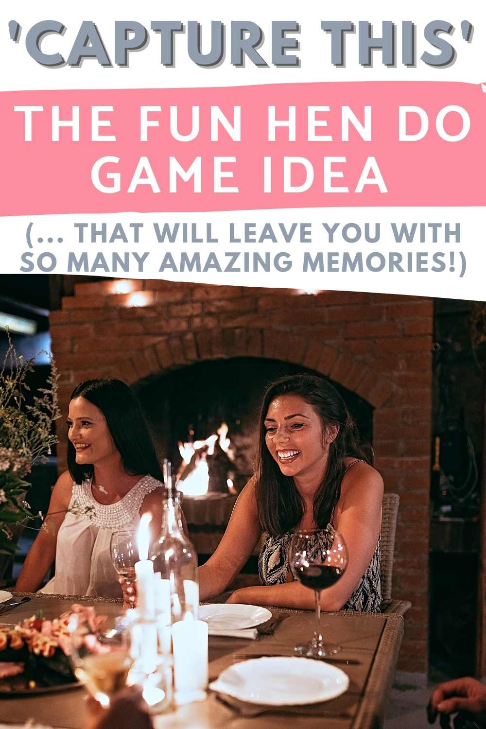 Capture This Funny Hens Party Game