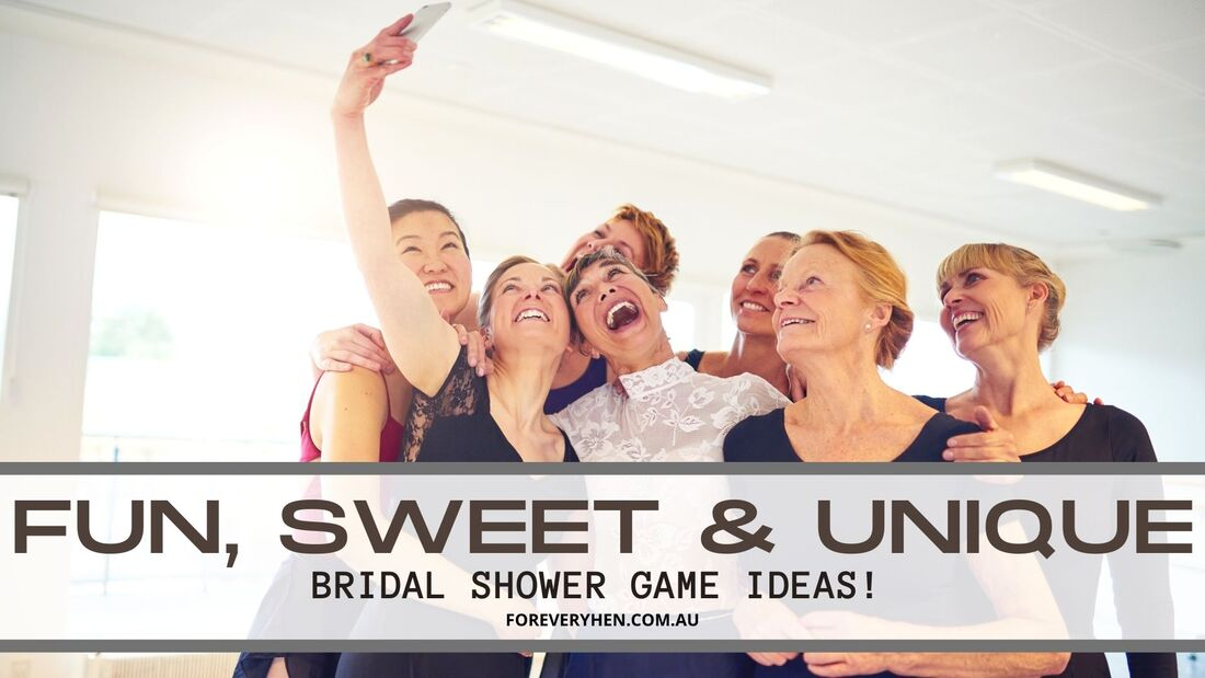 Games for the Bridal Shower