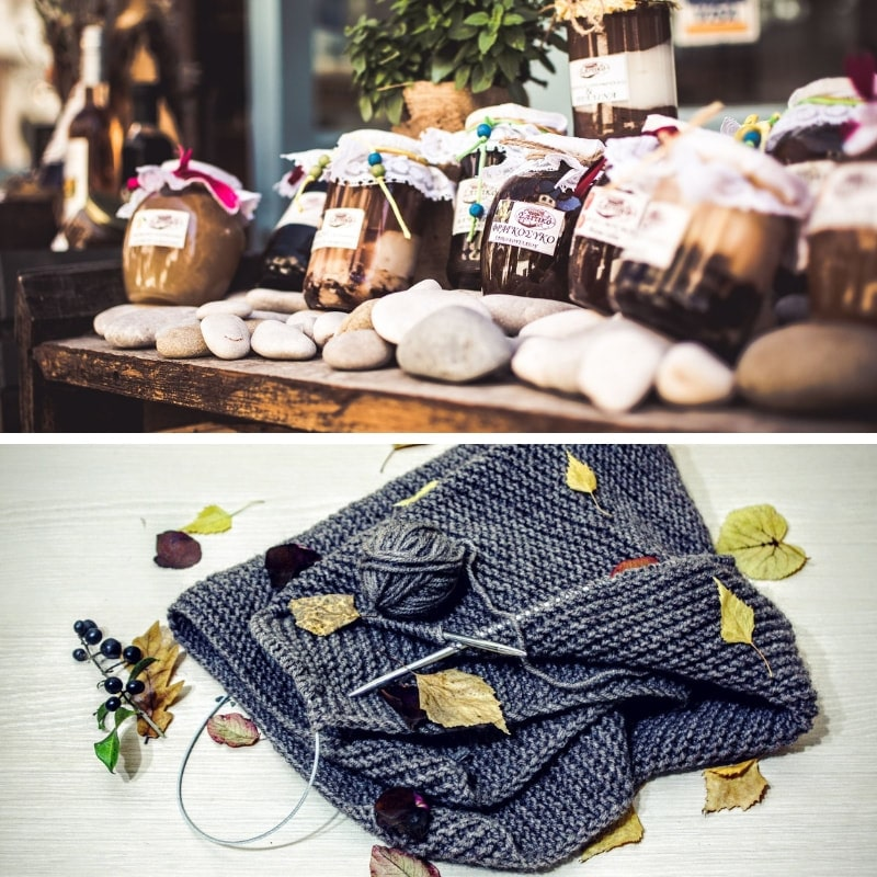 Gift bag ideas - homebaked and homemade products