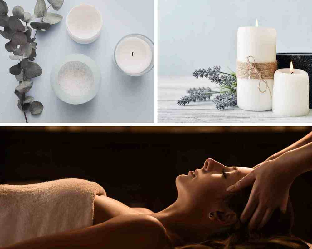 Flickering Candles just one of many pampering ideas