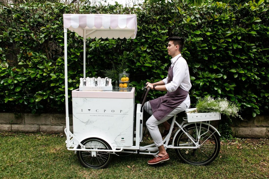 Novelty Catering Cart