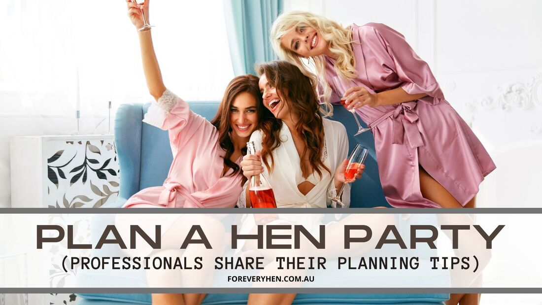 Hens party planning