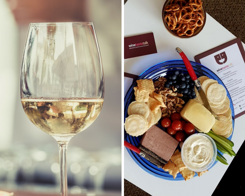 Food & White Wine - The Perfect Combination!